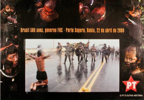 2000.Cartaz da campanha