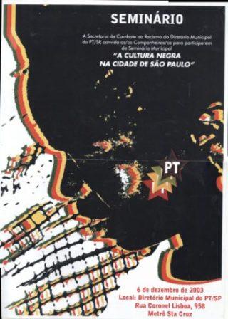 2003.Cartaz seminario municipal