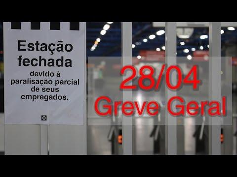 Greve Geral   28 de abril de 2017   Transporte público na Zona Oeste de São Paulo
