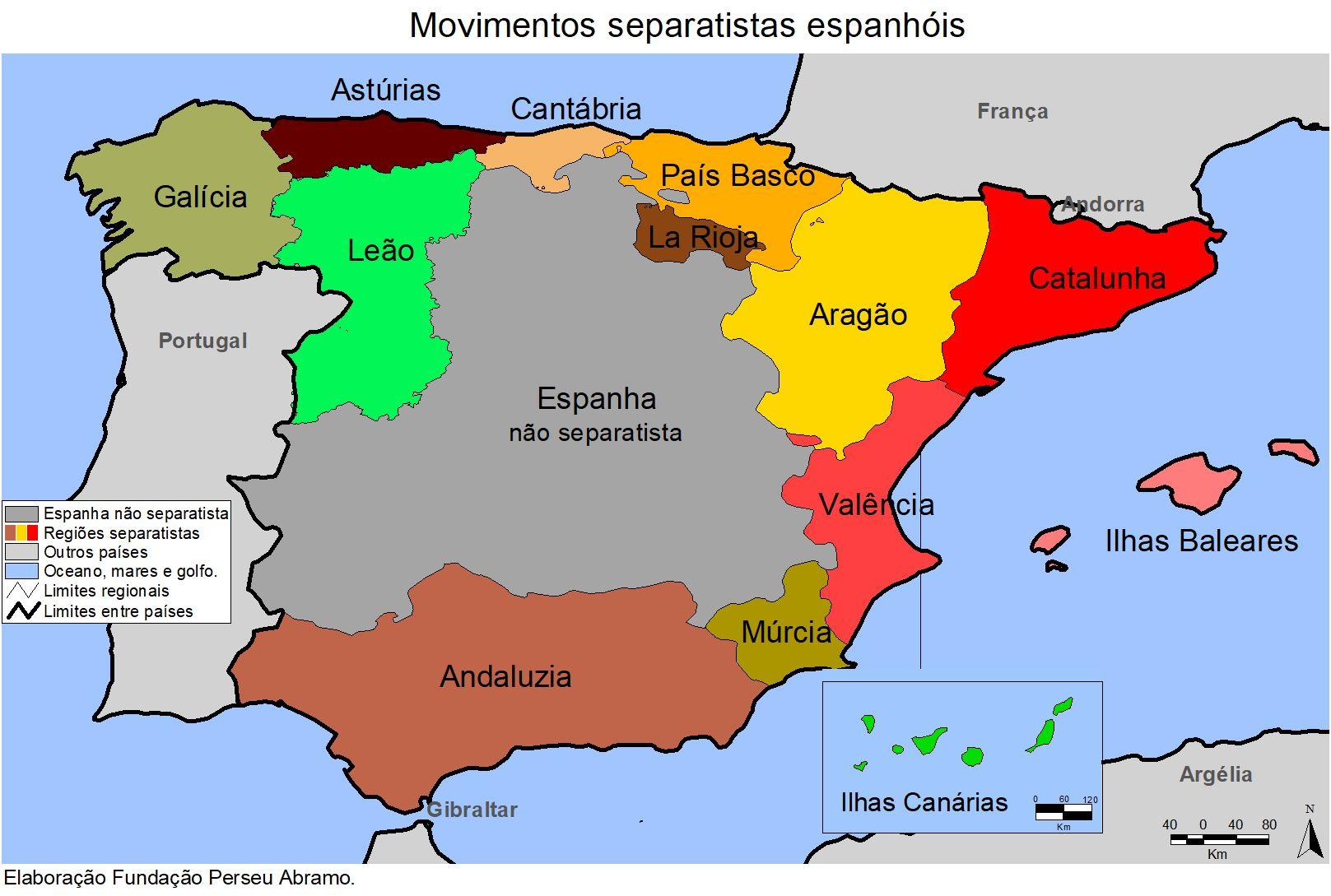 Conheca As Regioes Com Movimentos Separatistas Na Espanha